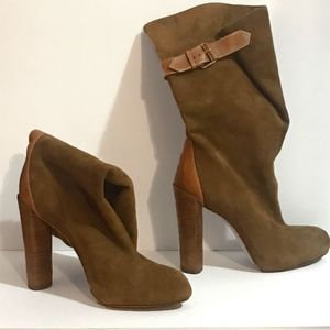 Boutique 9 Tan/Brown Suede Boots